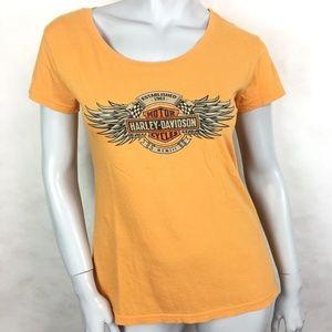 Harley Davidson sz medium blouse top A14-CP